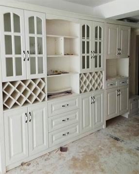 客厅组合柜、书桌定制