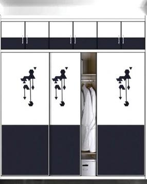 推拉衣柜定制